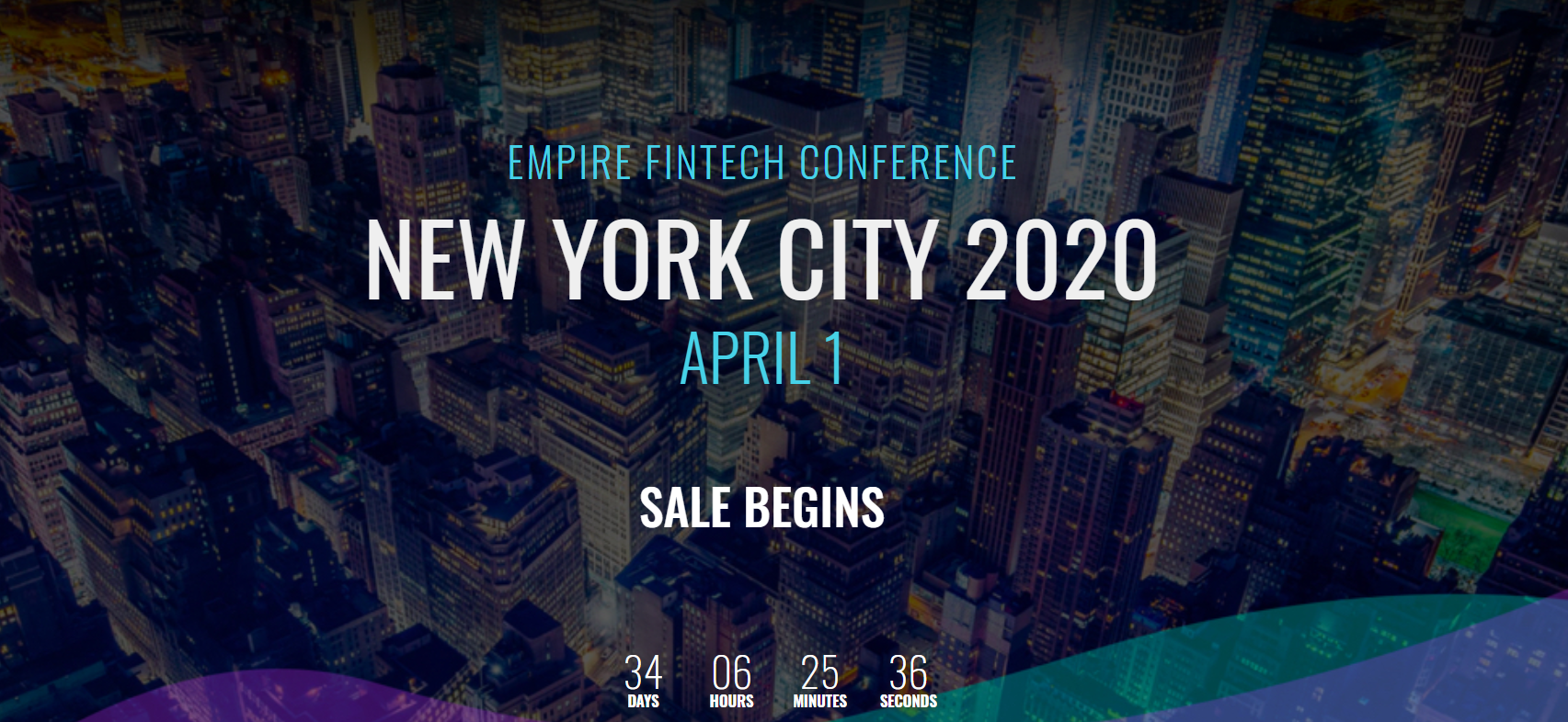 Événement fintech 2019 - Empire Startups Fintech Conference New York