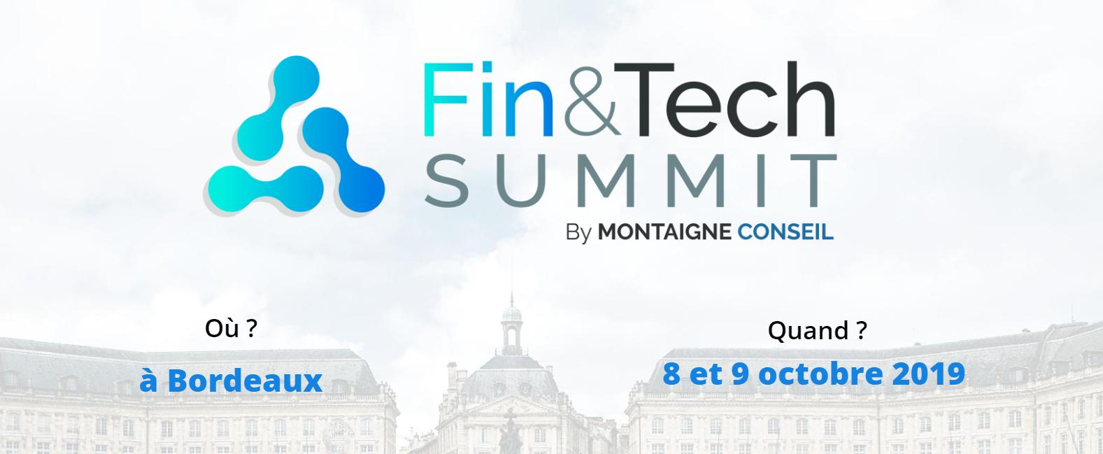 Événement fintech 2019 - Fin&Tech Summit