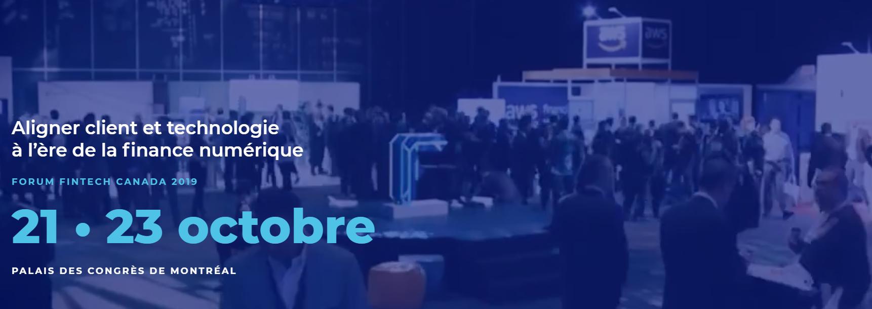 Événement fintech 2019 - Forum Fintech Canada