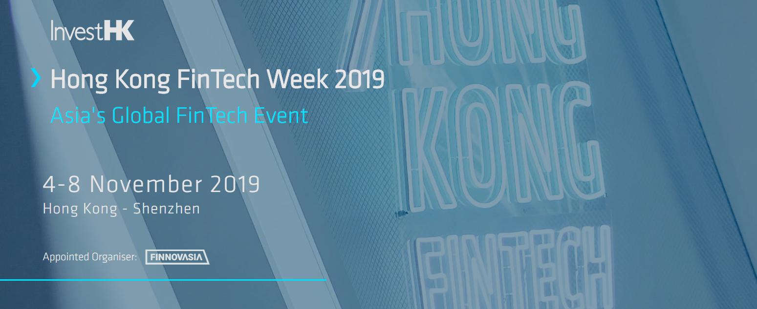 Événement fintech 2019 - Hong Kong Fintech Week