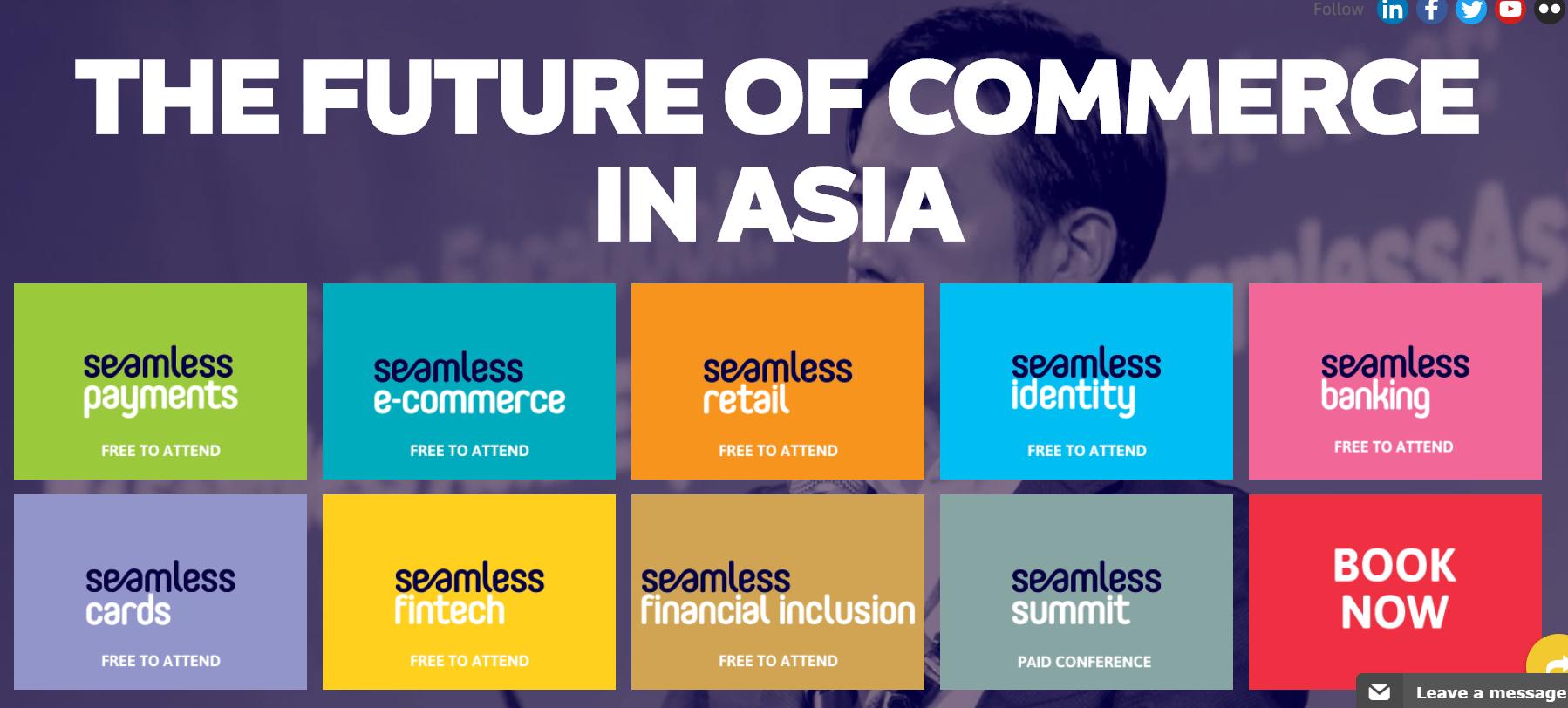Événement fintech 2019 - Seamless Summit